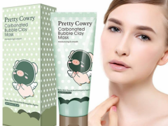 Маска для лица Pretty Cowry Care Carbonated Bubble Clay Mask